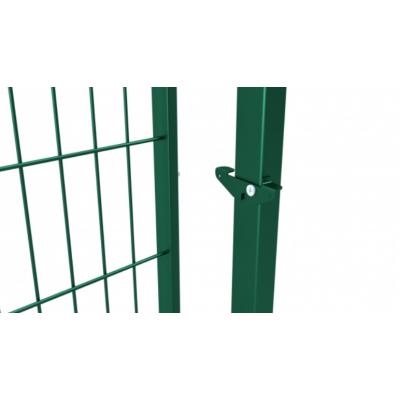 """Хвіртка """"ДУОС"""" 200х50мм 5,00мм/4,00мм/5,00мм 2,00м/1,00м оц.+ПП RAL 6005 ЗЕЛЕНИЙ 2,70м/80х60мм/2,0мм 60х40мм/1,5мм +замок"""